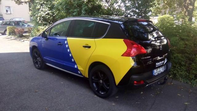 Istinski bh. patriota: Elvir Dedukić je vlasnik ovog prelijepog automobila